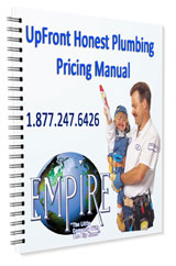 Your low, low plumbing prices are in writing. Our plumbers are here to help you with all your plumbing problems.