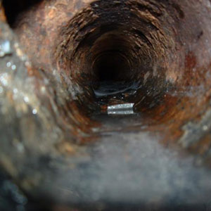 Rusted out drains can cause drain stoppages, sewer leaks and mold and mildew growth